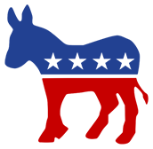 Democratic Party Political Voter List with Email